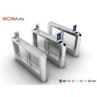Buy cheap Face Recognition Swing Gate Turnstiles SS304 Automatic Access Control Gate product