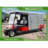 Buy cheap 2 Seater 48v Electric Ambulance Golf Cart With Rain Cover Waterproof product