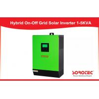 Buy cheap 5KVA 48V 1 Phase hiigh  efficient off grid inverter , house power grid inverter with 120A MPPT from Wholesalers