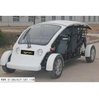 Buy cheap Electric Utility 4 Seater Golf Cart Fiberglass Material For Street product
