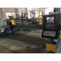 Buy cheap High Accuracy CNC Plasma Metal Cutter With 1 Flame Torch And 1 Plasma Torch from wholesalers