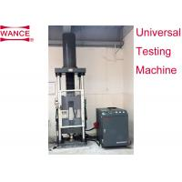 Buy cheap Low Frequency Servo Hydraulic Universal Testing Machine ISO15630.2 Standard product