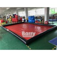 Buy cheap Airtight Cleaning Inflatable Car Wash Mat / Inflatable Water Containment Mat product