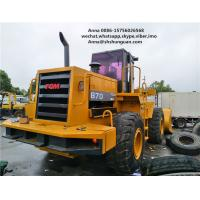 China 5000kg Rated Load Used Wheel Loaders Payloader 870 Close Cab Used Loader on sale