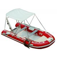 Buy cheap 25HP Motor Inflatable Fishing Boats Rigid Hull Inflatable Boats 3.5 Meter Length product