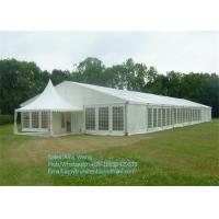 Buy cheap Chinese Waterproof Marquee Gazebo Tent 4x4m With Glass and ABS walls from Wholesalers