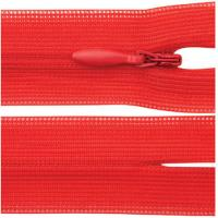Buy cheap 5 # Close End Separating Invisible Zipper With Red Tape For Bridal Wear product