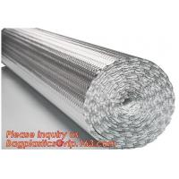 China Aluminum Bubble Foil Heat Reflective Insulation Sheets for roof floor an dwall,epe Foam Insulation Material Sheet /Fire on sale
