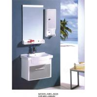 PVC bathroom vanity / wall cabinet / hanging cabinet / white color for bathroom 60 X49/cm