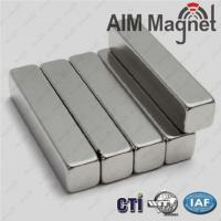 Buy cheap N52 Neodymium Block Magnet for Picture Frame from wholesalers