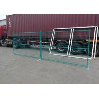 Buy cheap Popular Canada Temporary Fence Color Customized Building Site Security Fencing product