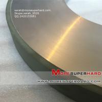 China resin bond cbn wheel for high speed steel  sarah@moresuperhard.com on sale