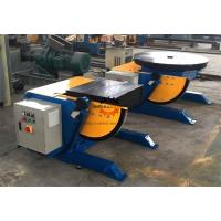 Buy cheap High Precision Squre Pipe Welding Positioners Table With 550 Watt Motor Driving product