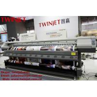 Buy cheap 3.2M Large Format inkjet Printer TWINJET SJ-3216Pro High Speed Output 43 square meters per hour product
