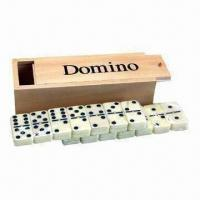 Buy cheap Wooden chess, measures 19 x 7 x 4.5cm product