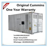Buy cheap 100kva/800kw Cummins diesel genset with container product
