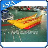 Buy cheap Water Games Inflatable Boats Double Tubes Flying Fish Inflatable Banana Boat product