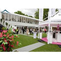 Buy cheap Commercial  Double Deck Outdoor Event Tents With Central Air-Conditioning from Wholesalers