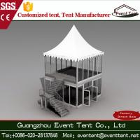 Buy cheap Prefabricated aluminum Alloy Double Decker Tent ABS Wall With PVC Coated Polyester Fabric from Wholesalers