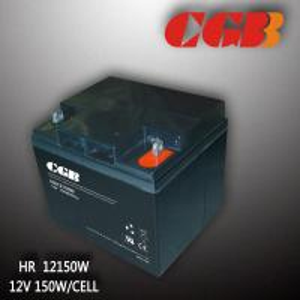 Valve Regulated Lead Acid Telecom Alarm System HR12150W High Rate Battery