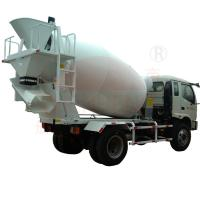 Buy cheap Construction Concrete Mixing Truck 6m3 / 8m3 Agitating Capacity Mobile product
