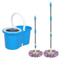 Buy cheap 360 Easy Wring Spin Mop and Stainless Steel Bucket with Wheels Includes Free Microfiber Mop Heads product