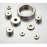 Buy cheap High Strength Ring Shaped Magnet Nickel - Copper - Nickel Triple Layer Coated product