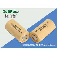SC2000 Low Temperature Rechargeable Batteries With 3 Years Cycle Life