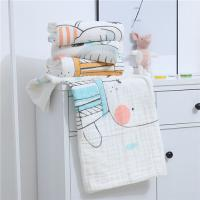 China Multiple Use Muslin Baby Blankets All Natural Material Anti Bacterial 6 Layer on sale