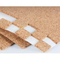 Buy cheap Sticky Transportation Protective Cork Pads for Glass or Mirror with PVC foam 30x30mm by Roll or Sheet product