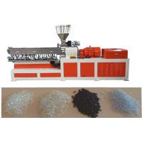 Buy cheap EVA Double Screw Extruder Plastic Making Machine Under Water Pelletizing System product