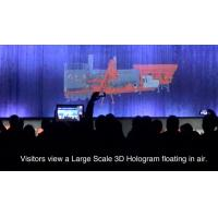 Buy cheap Stage Hologram , holographic display system for Trade Show / Concert 10 Meter wide product