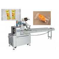 China Auto Small Pie Pillow Wrapping Machine Electric Driven Type High Efficient on sale
