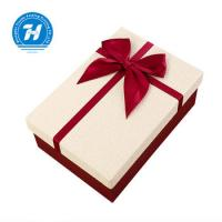 Buy cheap Rigid Personalized Wedding Favor Boxes With Bow - Knot FSC Certification product