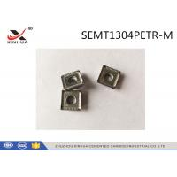 China CNC Solid Tungsten Carbide Inserts Milling Accessories Machining Cast Iron SEMT1304 on sale