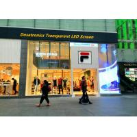Buy cheap Commercial Waterproof P5 P6 P7 Transparent LED Display Digital Billboards product