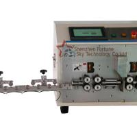 Buy cheap Fully Automatic 2.5-50 sqmm 13awg-1/0awg Wire Stripping Machine Wire Cut Both Ends Stripping Multi Step Strip product
