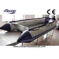 China Towable 12 Ft Hypalon Foldable Inflatable Boat With Hand Glued Tube on sale