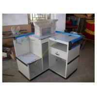 Buy cheap Durable Mini Express Checkout Counter Furniture / Grocery Cash Table from wholesalers