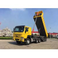 Buy cheap SINOTRUK 3 Axle Dump Trailer , Heavy Duty Tipper Trailer With FUWA Brand Axle from wholesalers