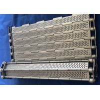 China Chain Link Plate Perforated Plate Mesh Belt Stainless Steel Wire Mesh on sale