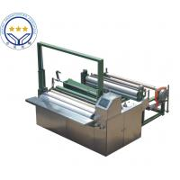 Buy cheap High Speed 50hz Non Woven Cutting Machine Color Touch Screen Parameter product