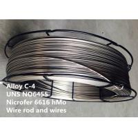 China UNS N06455 Corrosion Resistant Alloys Forging / Wire For Chemical Process on sale