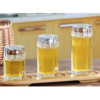 Buy cheap Small Glass Honey Jars / Transparent Glass Storage Jars For Cosmetic With Lid product