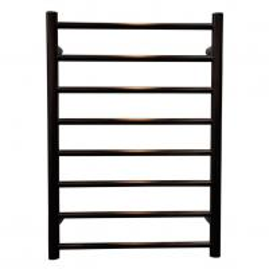 Buy cheap SAA Stainless Steel round Bathroom Electric Heated Towel Rack Rail Warmer matte balck/coffee product