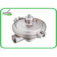 Quality Constant Pressure Regulating Sanitary Pressure Relief Valve With Butt Weld End DN15-DN100 for sale