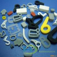 China Heat Resistant Silicone Extruded Rubber Seals For LED Strip on sale