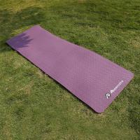 Buy cheap Outdoor Leisure Products Premium TPE travel yoga mat for girl / ladies from Wholesalers