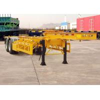 Buy cheap Durable Skeleton Semi Trailer Container Transport Trailer Customized Color product