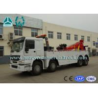 Buy cheap Hydraulic System Fast Speed Rotatable HOWO Recovery  Truck Low Fuel Consumption product